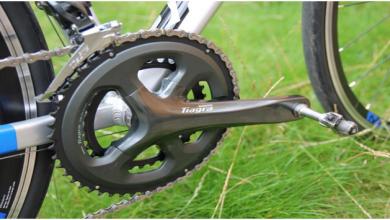 Photo of SHIMANO Tiagra Double Road Bicycle Crank Set
